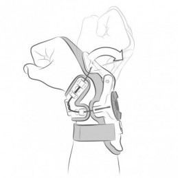 Mobius X8 Wrist Brace Replacement Liner Black