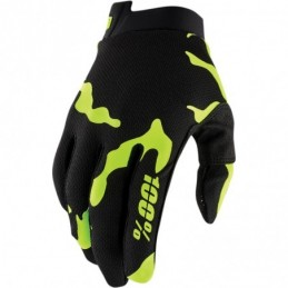 100% GLOVE AIRMATIC XL FLUO YELLOW/BLACK