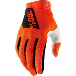 100% YOUTH GLOVE AIRMATIC L FLUO YELLOW/BLACK
