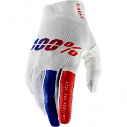 100% GLOVE AIRMATIC 2XL RED/BLACK