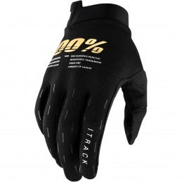 100% GLOVE AIRMATIC L STEEL GREY/ICE BLUE/BRONZE