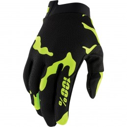 100% GLOVE AIRMATIC XL BLACK/WHITE/SILVER